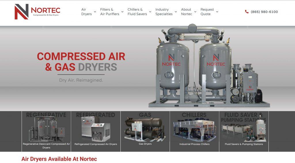 Nortec New Website