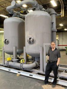 Custom High Capacity Desiccant Dryer