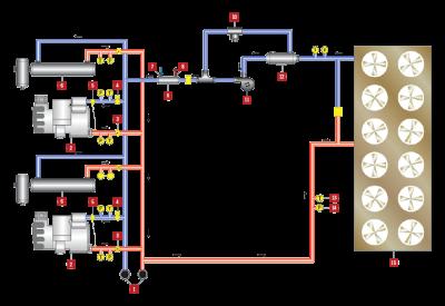 Fluid Cooler Diagram